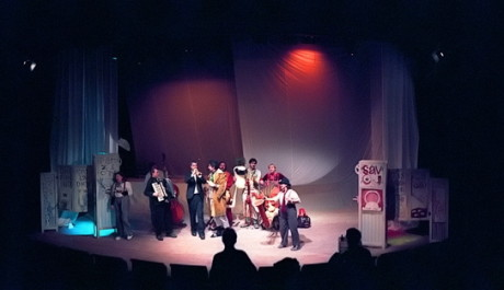Příběh o narození v divadle Minor