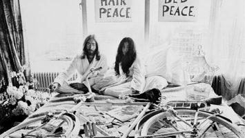 FOTO: John Lennon a Yoko Ono