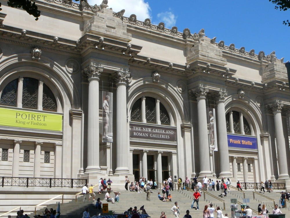 Prodlou en v kend v ny je t eba zakon it stylov m for Museum of art metropolitan