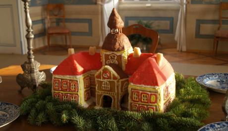 FOTO: perníkový model zámku Nebílovy