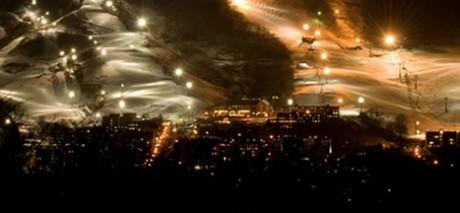 FOTO: noční jízda v Niseko