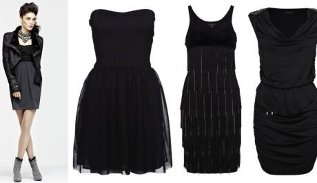 FOTO: Malé černé šaty