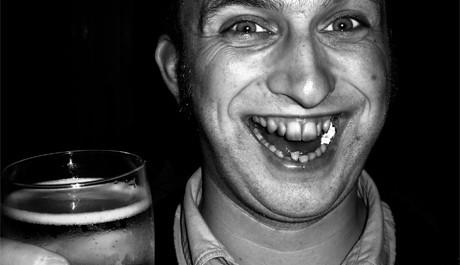 FOTO: Štastný muž s pivem