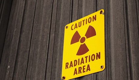 FOTO: Radioaktivní zóna