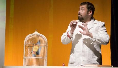 FOTO: Radim Kalvoda v představení Monty Pythonův létající kabaret v divadle Rokoko