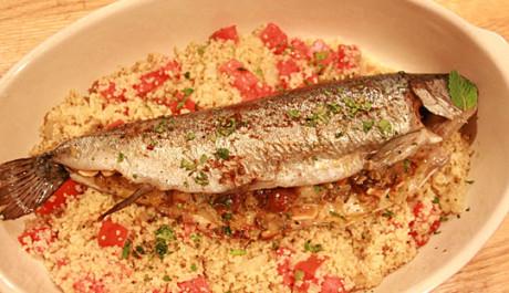 FOTO: Smažená ryba s rýží