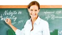 Logo webových stránek nové maturity