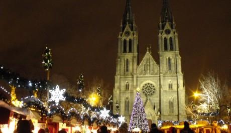 FOTO: Vánoční trhy na náměstí Míru