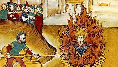 OBR: Upálení Msitra Jana Husa
