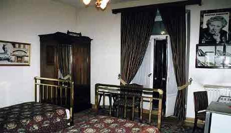 FOTO: Pokoj, kde A. CH. tvořila