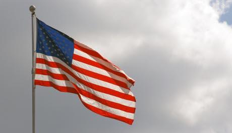FOTO: Americká vlajka