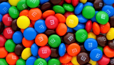 FOTO: Barevné bonbony