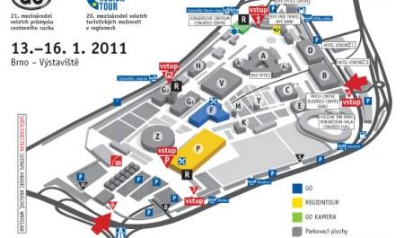 FOTO: Mapa GO a Regiontour