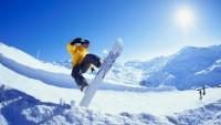 FOTO: Snowboarding