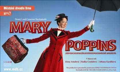 FOTO: Muzikál Mary Poppins Zdroj: Městské divadlo Brno