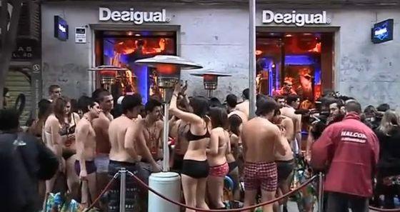FOTO: Polonazí nakupující