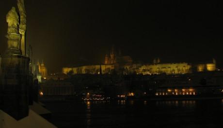 FOTO: Noční Pražský hrad