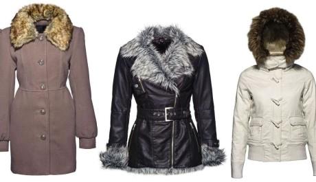 FOTO: Zimní oblečení s kožešinou