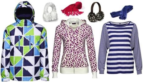 FOTO: Zimní barevné oblečení