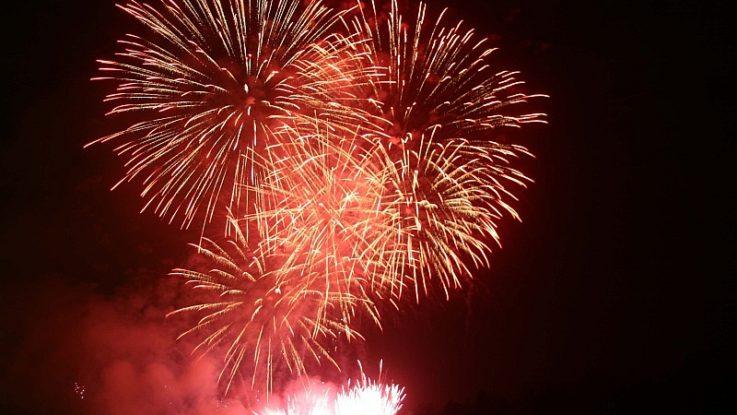 FOTO: ohňostroj nový rok