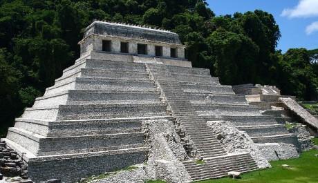 Palenque - mayská archeologická lokalita