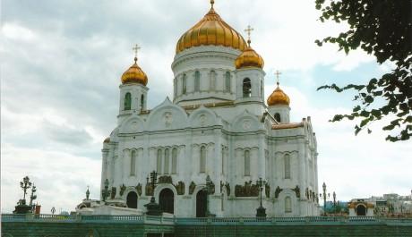 FOTO: Pravoslavný kostel, Moskva