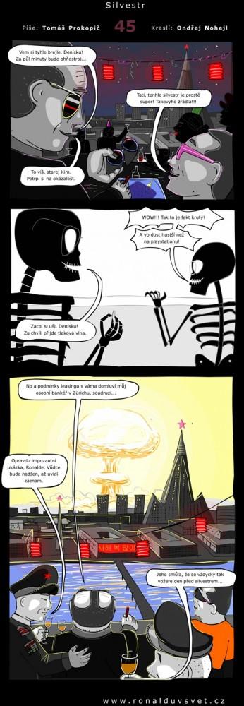 Ronaldův svět: #45 - Silvestr