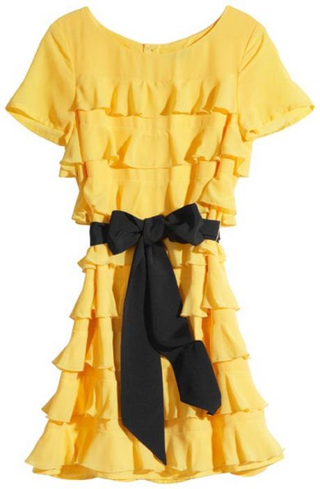 FOTO: Volánové šaty.