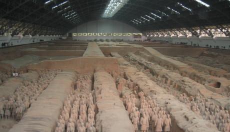 FOTO: Terakotová armáda, Čína