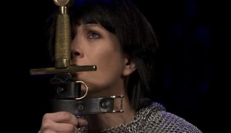 FOTO: Tereza Kostková v roli Jany z Arku
