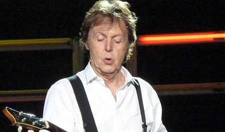 FOTO: Paul McCartney v Dublinu