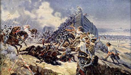 OBRÁZEK: Bitva na vrchu Vítkově