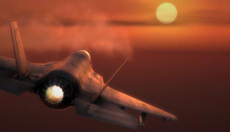 Foto: bojový letoun