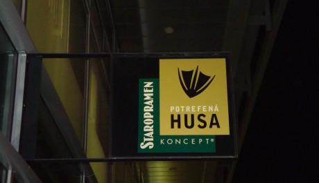 Foto: Zlaté logo Potrefené husy