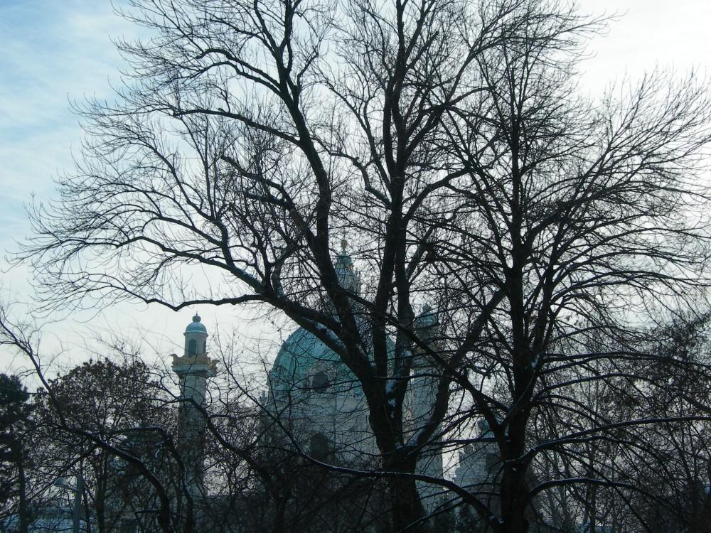 FOTO: Karlskirche, Vídeň