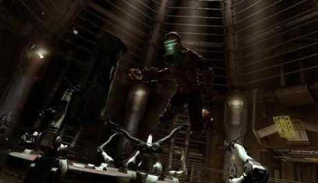 Obr.:Isaac má nyní trysky pro poletování ve vzduchoprázdnu