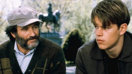 FOTO: Dobrý Will Hunting - scéna v parku