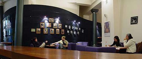 FOTO: Pohled na foyer divadla DISK