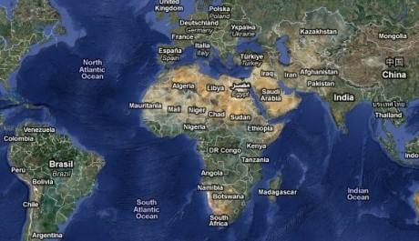 google mapa sveta TOP 7 nejnudnějších měst světa aneb Kudy do nudy   TOPZINE.cz google mapa sveta