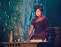FOTO: Ilona Csáková v premiérovém představení muzikálu Kat Mydlář v Divadle Broadway