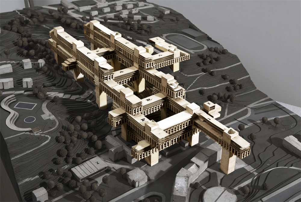 OBR. Model experimentální bytové výstavby - Košíře