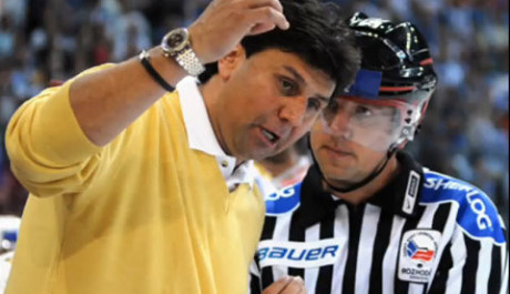 FOTO: Hokejový trenér Vladimír Růžička