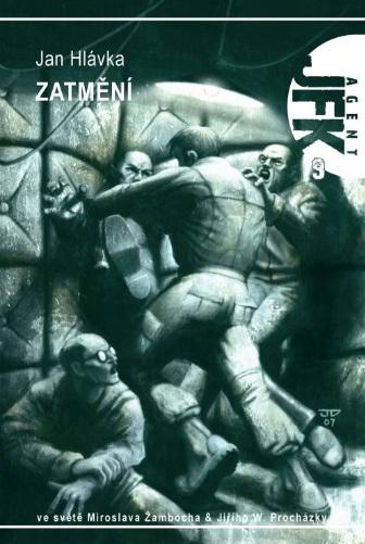 Zatmění Jan Hlávka (obálka knihy)