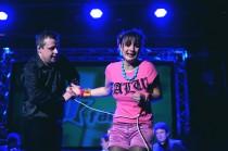 FOTO: Barbora Poláková v představení Superčlověk v divadle Rokoko