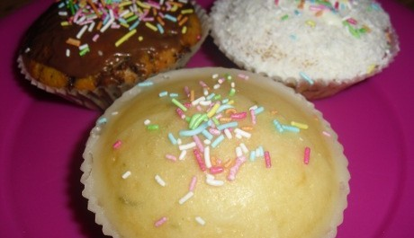 FOTO: Citrónový muffin