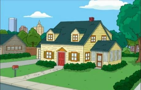 FOTO: Griffinovi - Family Guy - dům