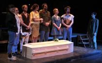 """FOTO: Autorský projekt """"hamlet"""" v divadle DISK"""