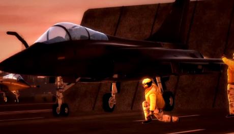 Foto: příprava letounu