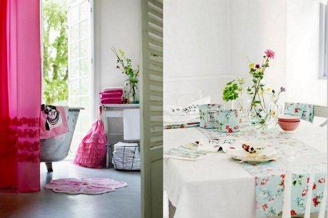 FOTO: Bytové dekorace v jarních barvách
