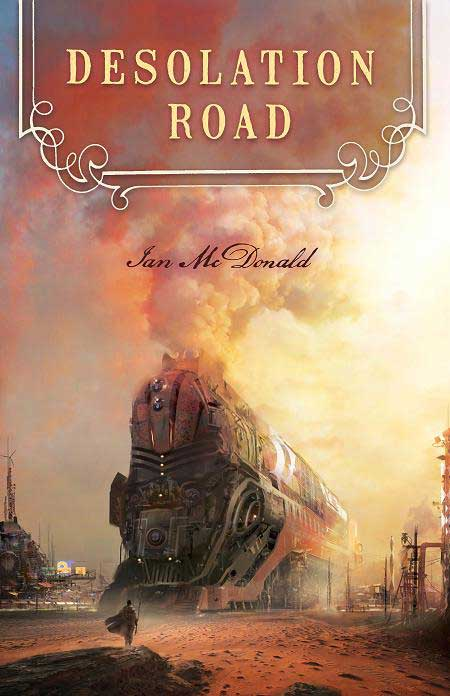 Ian McDonald: Desolation Road EN (obálka)